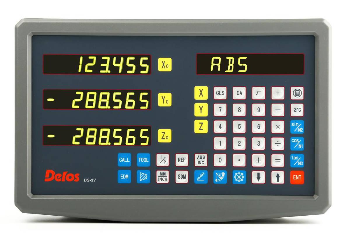 Delos DS40-3V DRO display